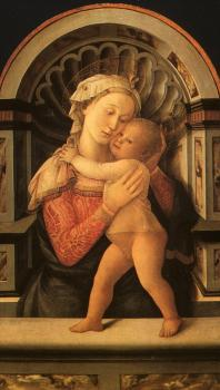 Fra Filippo Lippi : Madonna and Child